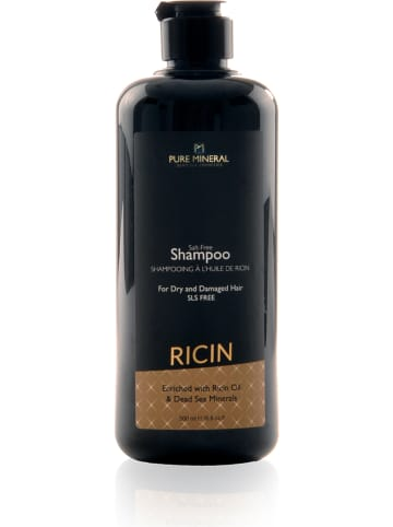 """PURE MINERAL Szampon """"Ricin - For Dry and Damaged Hair"""" - 500 ml"""