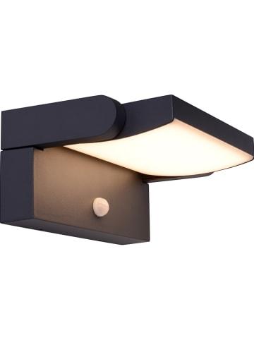 Näve Zewnętrzna lampa LED w kolorze czarnym - 21 x 18 cm