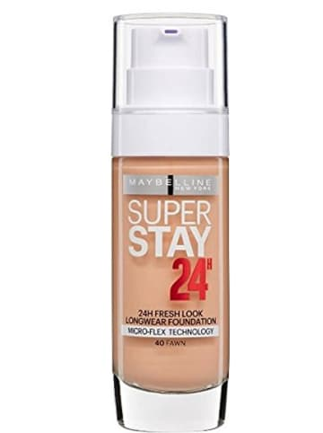 "Maybelline Foundation ""SuperStay 24h - 40 Fawn"", 30 ml"