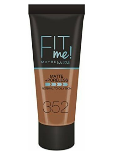 "Maybelline Foundation ""FitMe - 352 Cacao"", 30 ml"