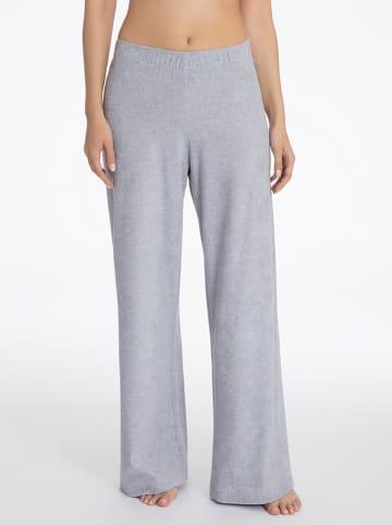 Calida Spodnie piżamowe w kolorze szarym
