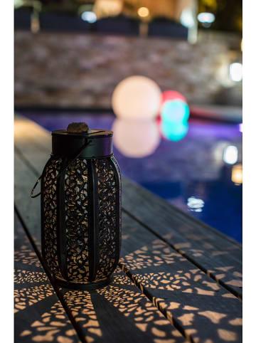 """Lumisky Solarna lampa LED """"Mistic"""" w kolorze brązowym - wys. 17 x Ø 17 cm"""