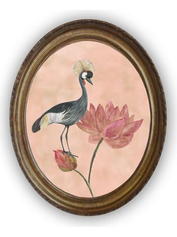 """Madre Selva Wanddecoratie """"Flores y Gruas"""" - (B)40 x (H)50 cm"""