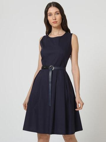 "ASSUILI Kleid ""Chloe"" in Dunkelblau"