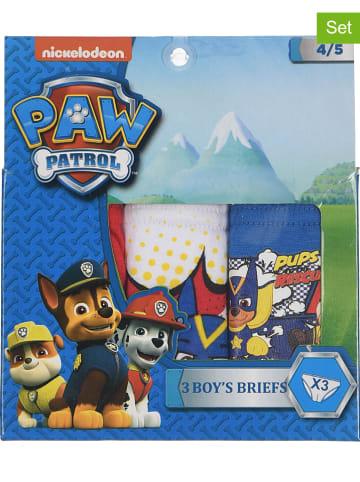 """Paw Patrol Slipki (3 pary) """"Paw Patrol"""" w kolorze niebieskim, czerwonym i białym"""
