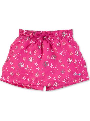 Sterntaler Spodnie-spódnicak w kolorze różowym do pływania