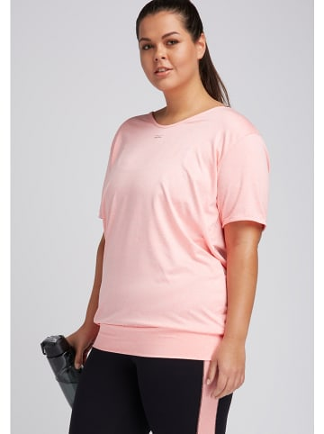 """CURVY FIT BY VENICE BEACH Trainingsshirt """"Sui"""" in Rosa"""