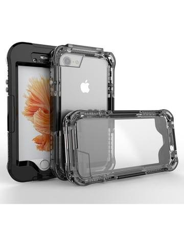SmartCase Waterdichte case voor iPhone 7/8 zwart