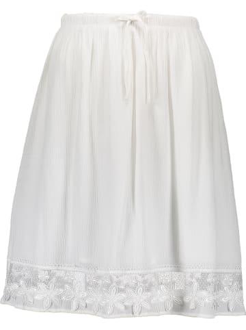 MAVI Spódnica w kolorze kremowym