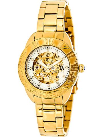 """Empress Automatisch horloge """"Godiva"""" goudkleurig/wit"""