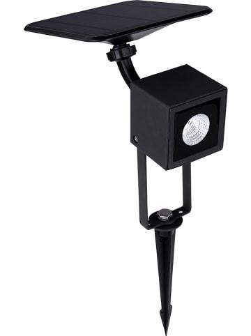Globo lighting Ledsolarlamp zwart - (B)25,4 x (H)47 x (D)17,3 cm