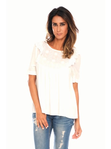 "Best of Summer Bluse ""Sisi"" in Weiß"