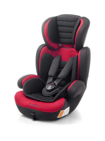 "Babyauto Kindersitz ""VIK123"" in Schwarz/ Rot - Gruppe 1/2/3"