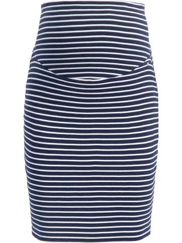 ESPRIT Zwangerschapsrok donkerblauw/wit