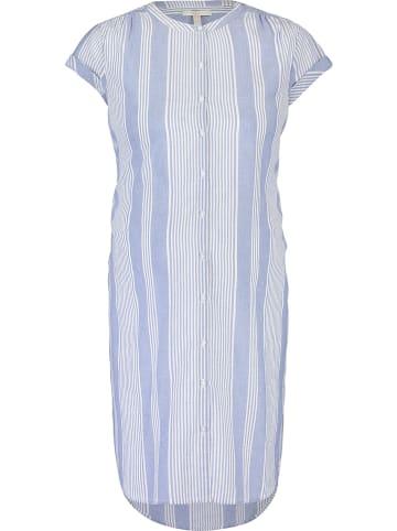 ESPRIT Sukienka ciążowa w kolorze błękitno-białym