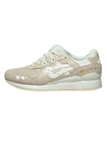 "Asics Leren sneakers ""Gel Lyte III"" beige"
