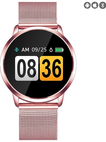 Evetane Smartwatch roségoudkleurig