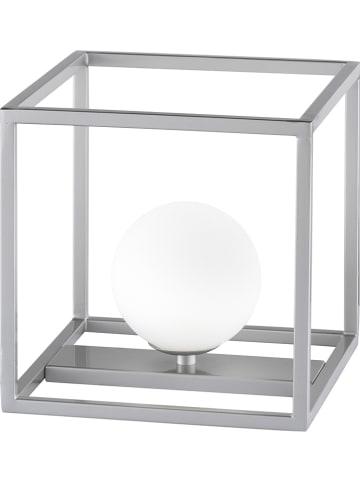 """WOFI Lampa stołowa """"Aurelia"""" w kolorze srebrnym - wys. 20 cm"""