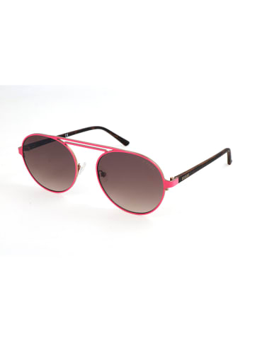 Guess Damen-Sonnenbrille in Pink/ Braun