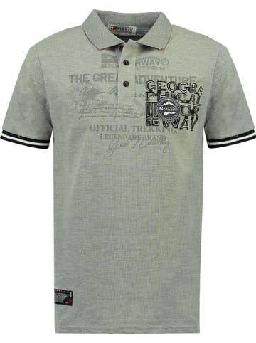 "Geographical Norway Poloshirt ""Koresun"" grijs"