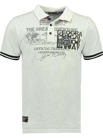 "Geographical Norway Poloshirt ""Koresun"" wit"