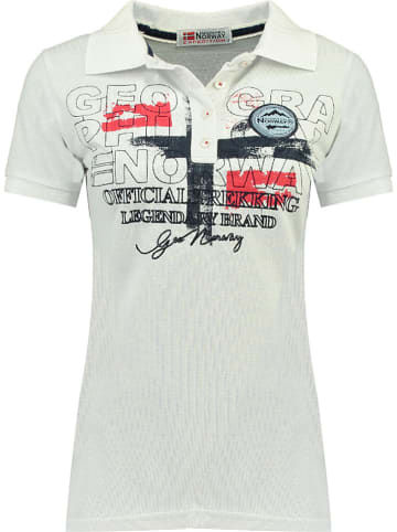 """Geographical Norway Poloshirt """"Kerry"""" in Weiß"""
