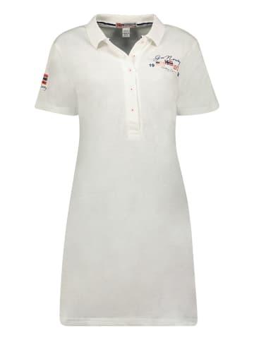"""Geographical Norway Sukienka """"Kotchella"""" w kolorze białym"""