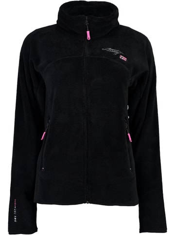 """Geographical Norway Fleece vest """"Upaline"""" zwart"""