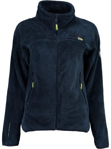 """Geographical Norway Fleece vest """"Upaline"""" donkerblauw"""