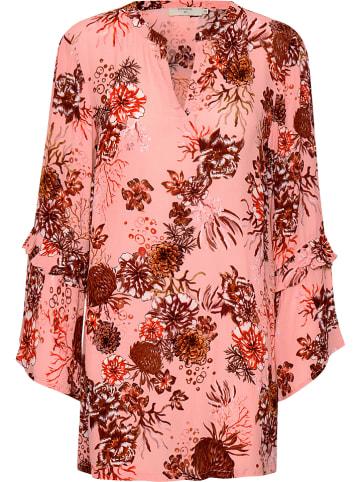 "Cream Bluse ""Latisha"" in Pink/ Rot"