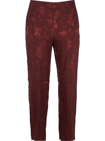 ZAY Spodnie w kolorze bordowym