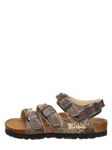 """Birki's Sandalen """"Ellice"""" in Braun/ Beige - Weite S"""