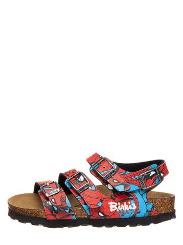 """Birki's Sandały """"Ellice"""" w kolorze niebiesko-czerwonym"""