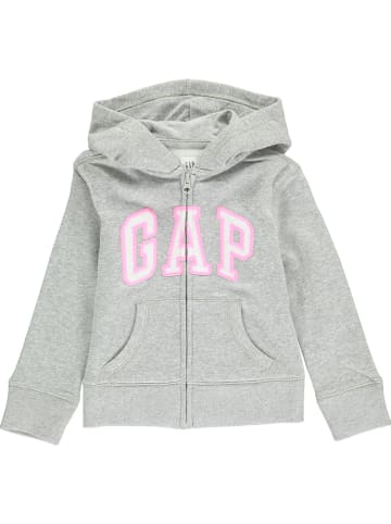 GAP Sweatjacke in Grau