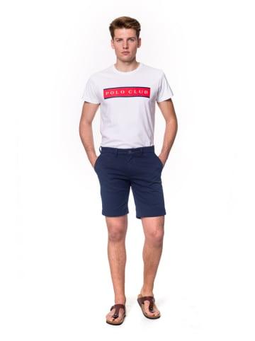 Polo Club Short - custom fit- donkerblauw