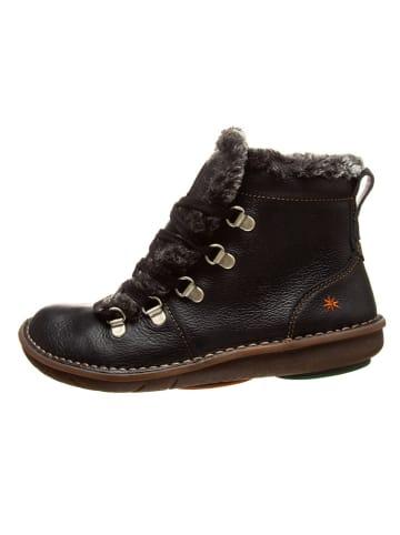 Art Kids Leren boots zwart