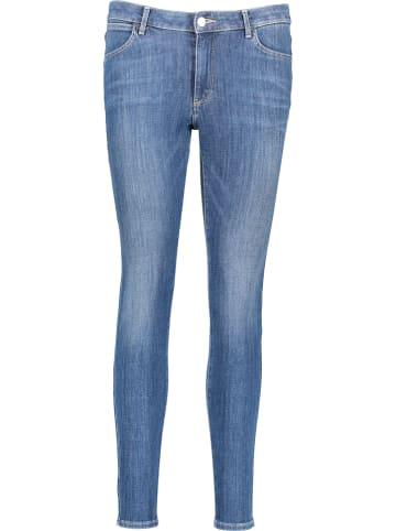Wrangler Dżinsy - Super Skinny fit - w kolorze niebieskim