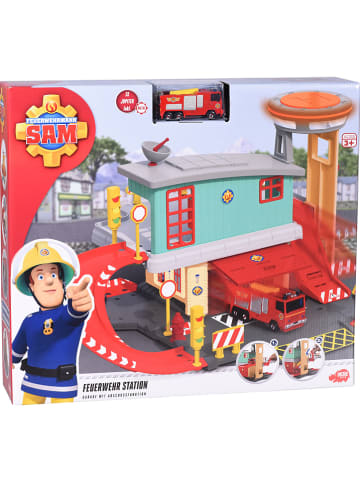 Feuerwehrmann Sam Brandweerkazerne met accessoires - vanaf 3 jaar