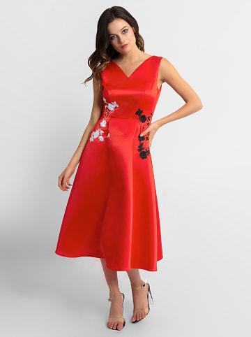 APART Sukienka w kolorze czerwonym