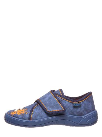 Richter Shoes Pantoffels blauw/oranje