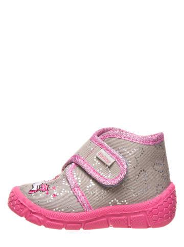 Richter Shoes Pantoffels grijs/roze