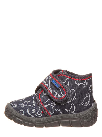 Richter Shoes Pantoffels donkerblauw