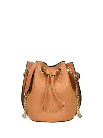 BOSCCOLO Skórzana torebka w kolorze brązowym - (S)16 x (W)20 x (G)16 cm