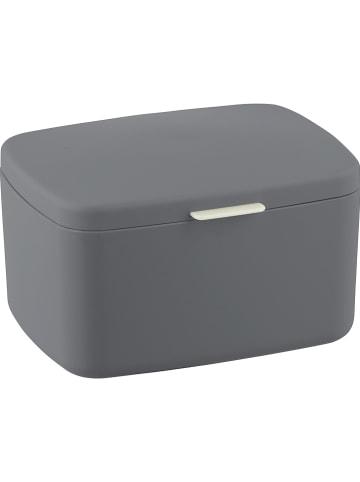 """Wenko Aufbewahrungsbox """"Barcelona"""" in Anthrazit - (B)19,5 x (H)11 x (T)16 cm"""