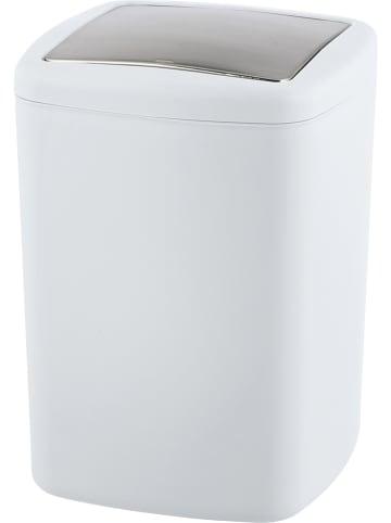 """Wenko Kosz """"Barcelona"""" w kolorze białym na śmieci - 8,5 l"""