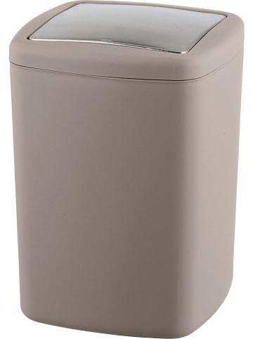 """Wenko Kosz """"Barcelona"""" w kolorze szarobrązowym na śmieci - 8,5 l"""