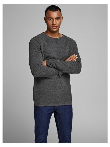 Jack & Jones Sweter w kolorze antracytowym
