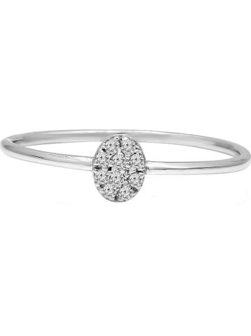 Vittoria Jewels Witgouden ring met diamanten