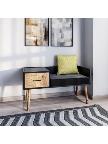 Scandinavia Concept Kredens w kolorze brązowo-antracytowym - 120 x 60 x 45 cm