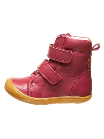 BO-BELL Leder-Boots in Bordeaux
